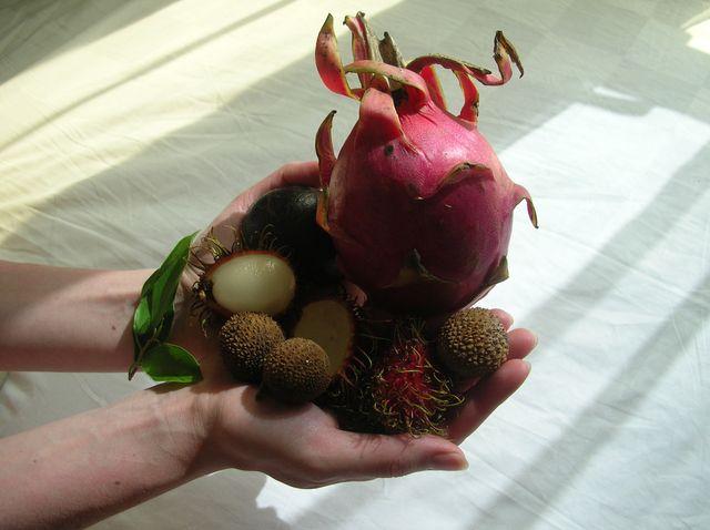 Экзотические фрукты, Хайнань