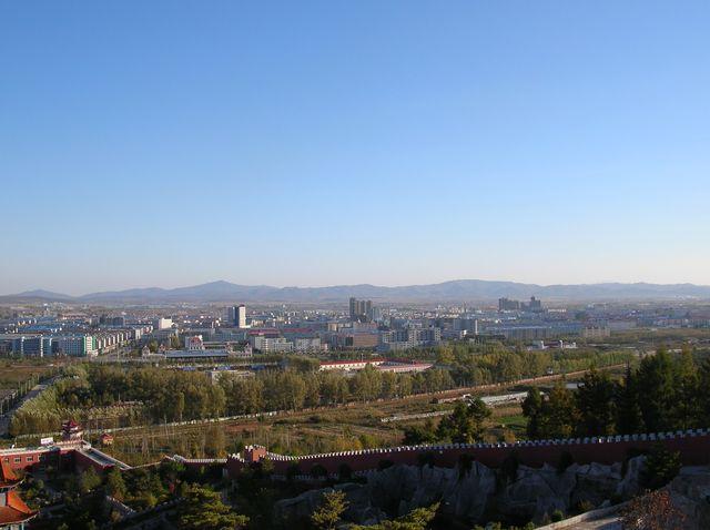 Вид на город Хуньчунь