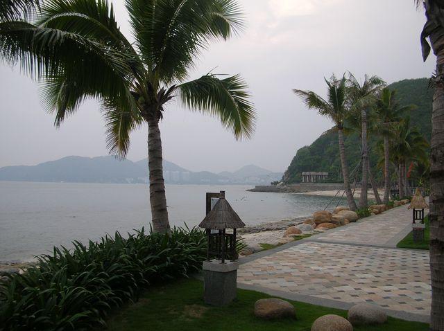 Набережная отеля Мандарин. Хайнань