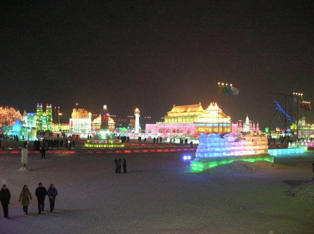 Ледяной городок. Харбин