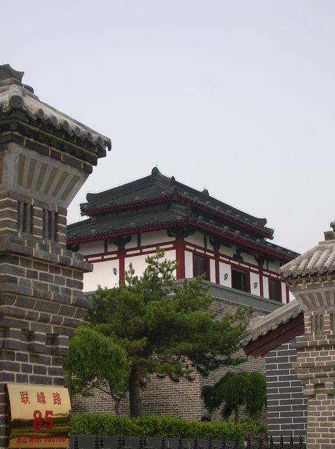 Современный домик в традиционном китайском стиле. Бэйдайхе