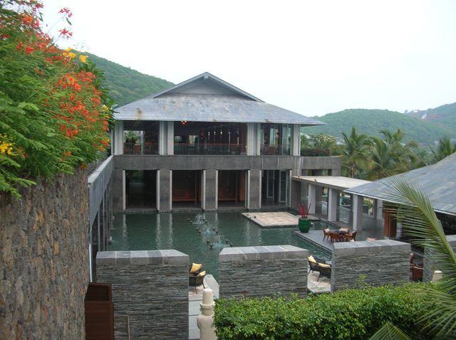 Помещение для отдыха в отеле Мандарин. Хайнань