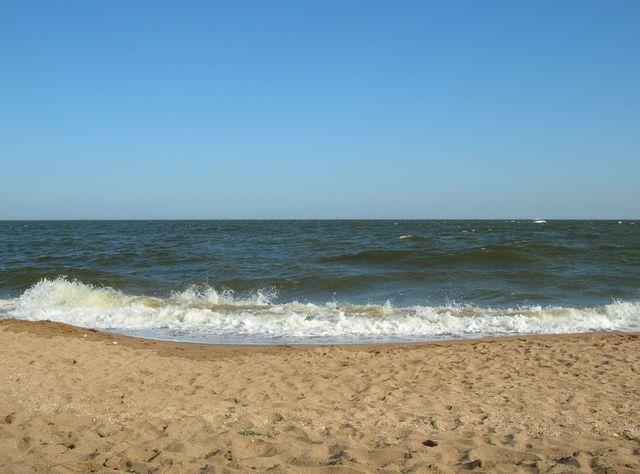 Жёлтое море. Курорт Бэйдайхэ