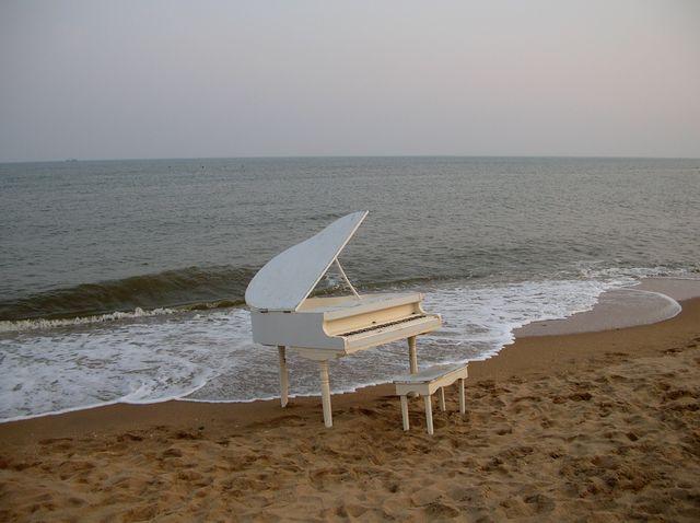 Рояль на море. Бэйдайхе.