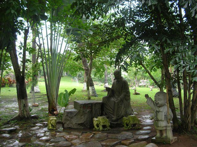 Парк буддистского комплекса Наньшань. Хайнань
