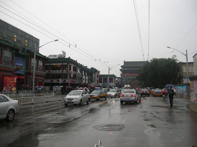 Дорога к Барабанной Башне. Пекин