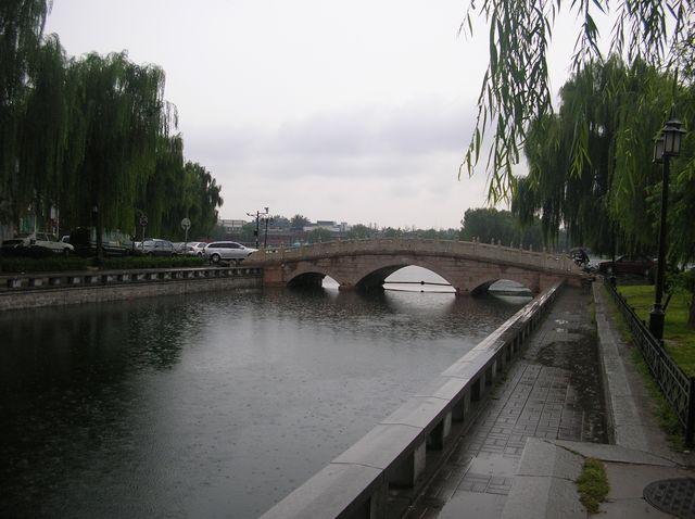 Мост возле Храма Бога Огня. Пекин