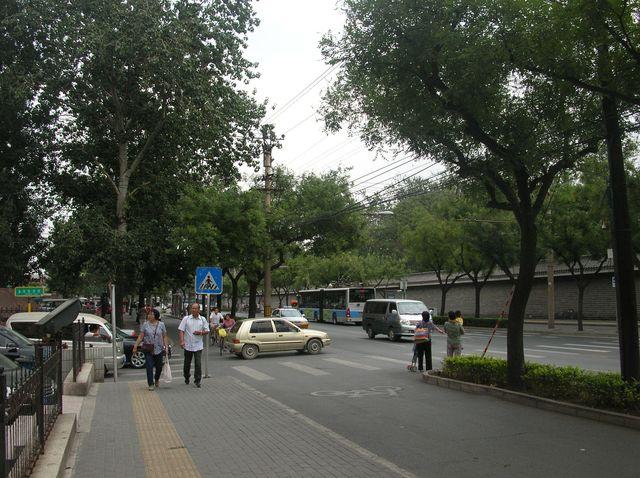 Улицы старого города возле Запретного города. Пекин