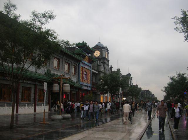 Здания на улице Цяньмэнь. Пекин