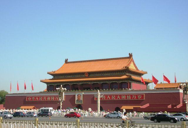 Ворота Небесного Спокойствия. Пекин