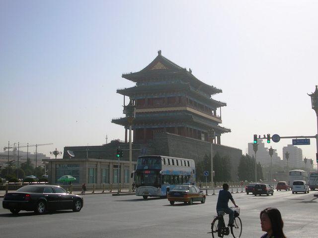 Главные солнечные ворота. Вид с улицы. Пекин