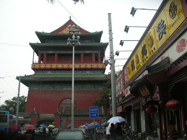 Барабанная Башня. Пекин