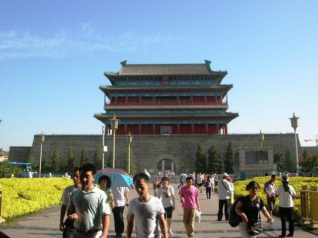 Главные Солнечные Ворота. Пекин
