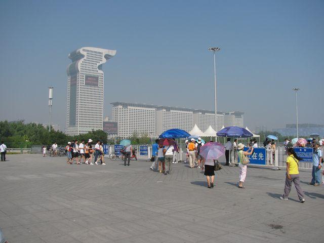 Самая дорогая гостиница на Олимпийской площади. Пекин