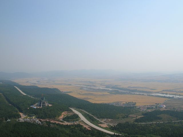 Окресности города Яньцзы возле Горы Тигра
