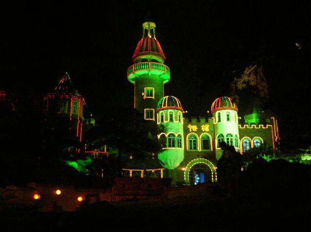 Удивительный дом в парке фонарей. Бэйдайхе