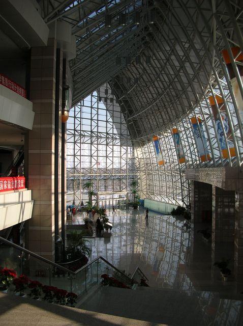 Внутри научно-технического центра. Харбин