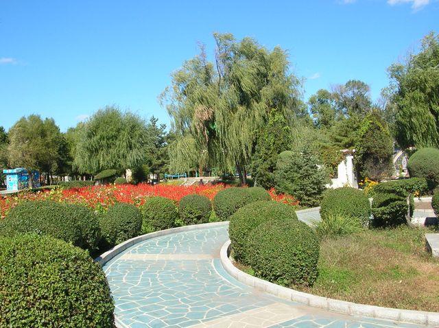 Парк города Яньцзи