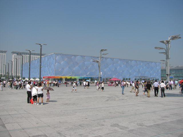 Национальный водный центр Водный куб. Пекин