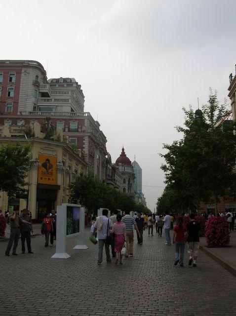 Пешеходная улица - Китайский Арбат. Харбин