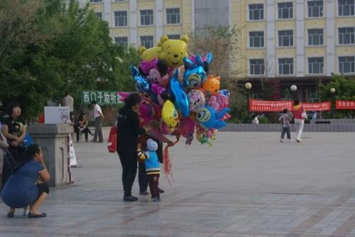 Продавец воздушных шаров г.Хэйхэ
