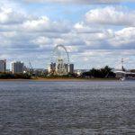 Вид на город Хэйхэ с катера