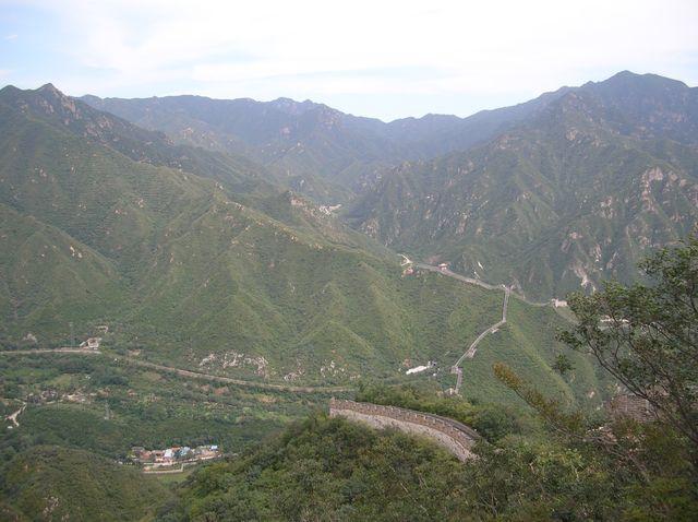 Участок Великой китайской стены Цзюйюнгуань
