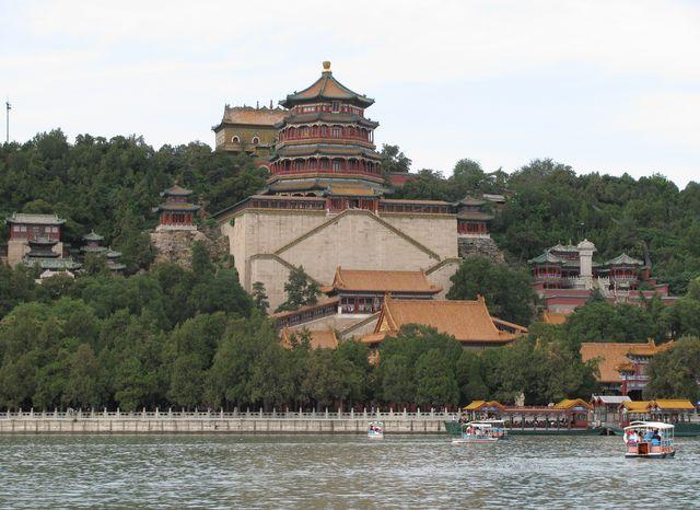Ансамбль на южном склоне горы Ваньшоушань в Летнем императорском дворце