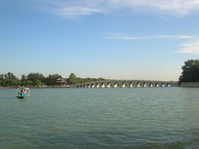 Мост из 17 пролётов (Шицикунцяо). Пекин