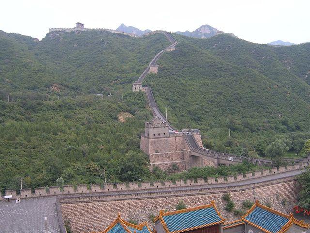 Стена Цзюйюнгуань возле Пекина