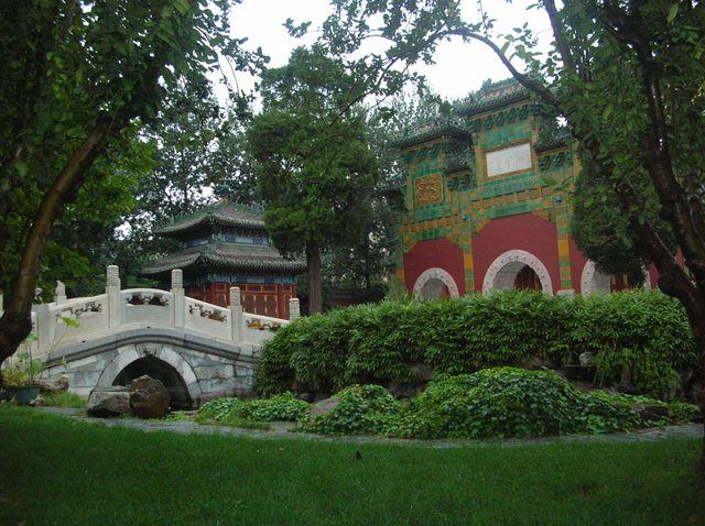 Парк Бэйхай г. Пекин