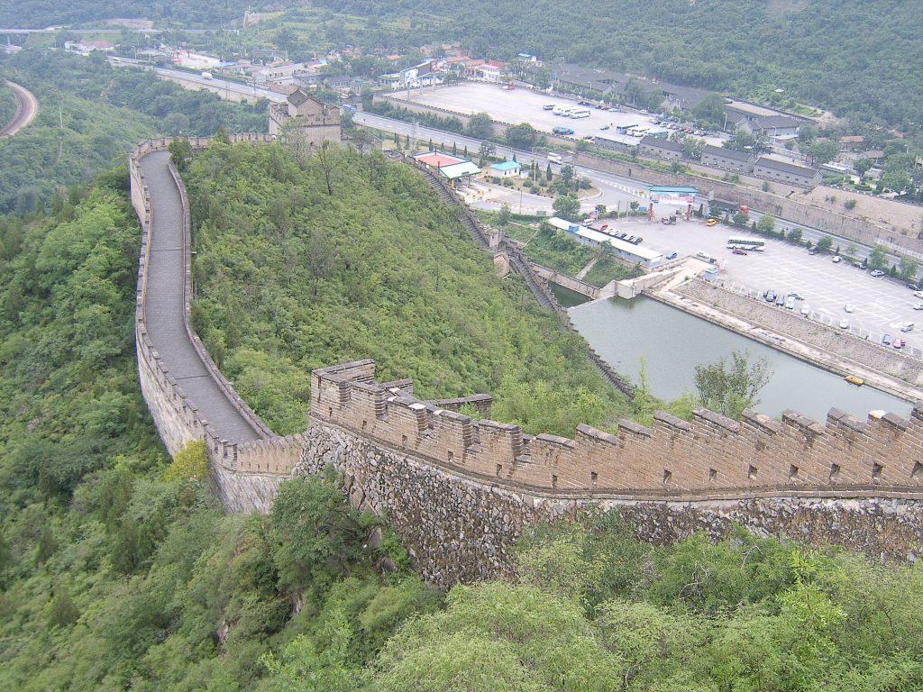 Участок Великой китайской стены возле Пекина