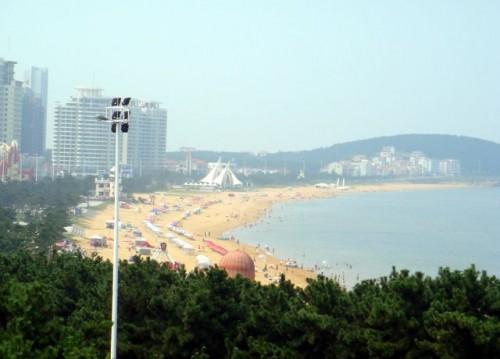 Центральный (международный) пляж г. Вэйхай