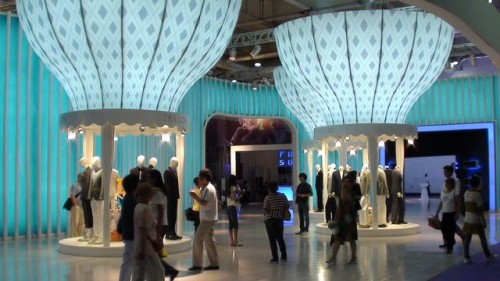 Выставка модной одежды в Даляне