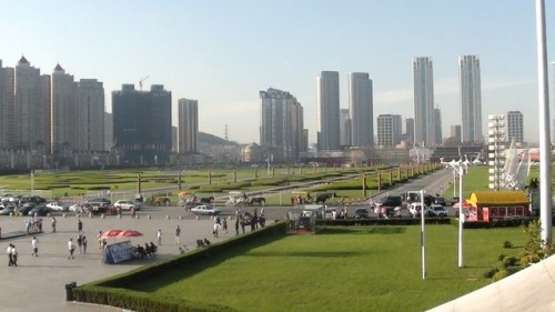 Площадь Синхай, город Далянь