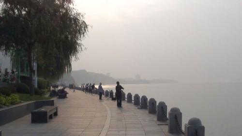 Туман на набережной Даляня
