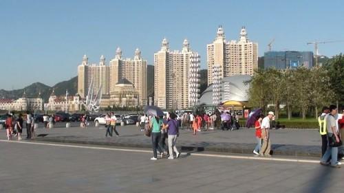 Элитные жилые высотки на площади Синхай