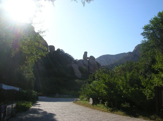 Каменный страж парка Долголетия. Бэйдайхэ