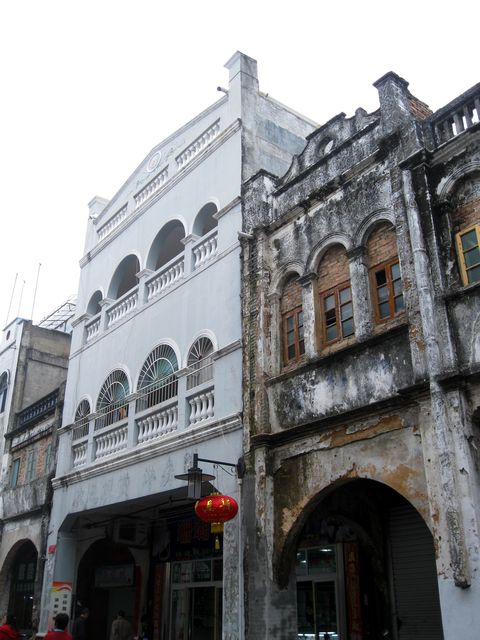 Старые здания города Бэйхай