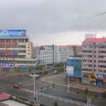 Пасмурное утро города Цзямусы