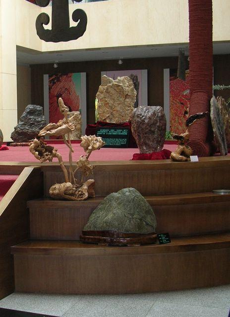 В геологическом музее. Далянь