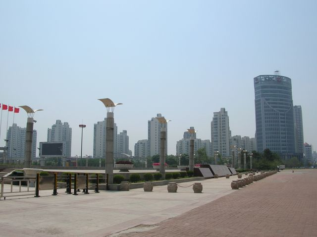 Площадь города Циньхуандао