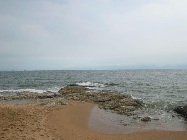 Морской берег в районе Циньхуандао
