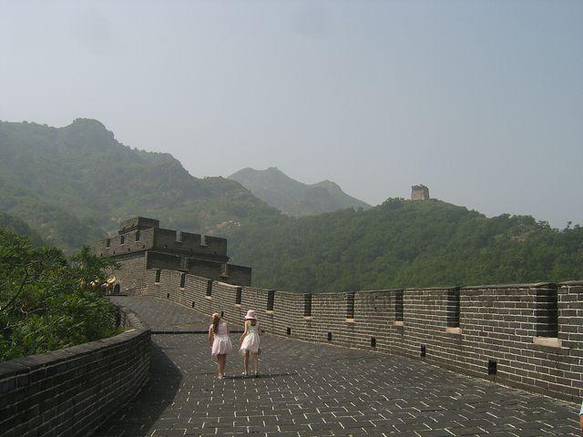 Участок Великой китайской стены возле Циньхуандао