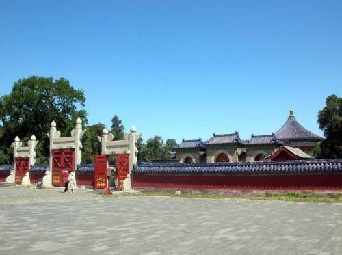 Ворота в Храме Неба