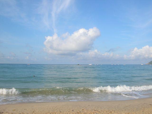 Море на Хайнане тёплое круглый год