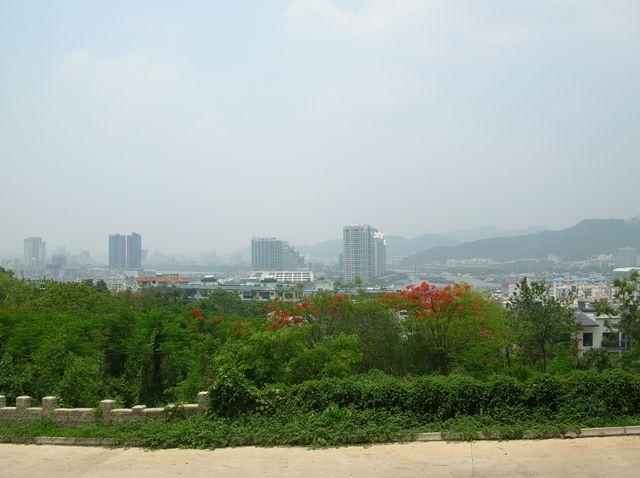 Вид на город Санья. Хайнань