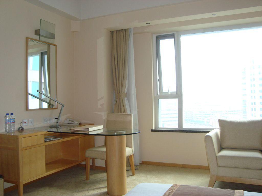 Комната. Вэйхай. Отель HAI YUE JIAN GUO