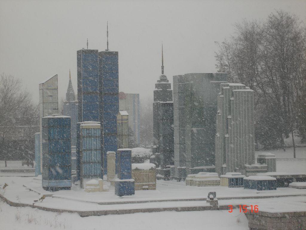 Район Нью-Йорка - Манхеттен. Парк Мира. Пекин