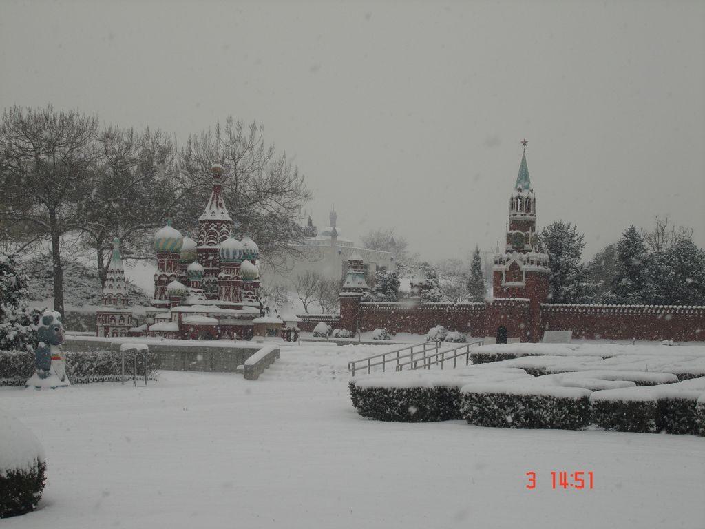 Красная площадь. Парк Мира. Пекин